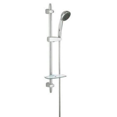 grohe vitalio comfort 100 iv brausestangen set 600 duschbrause duschschlauch. Black Bedroom Furniture Sets. Home Design Ideas