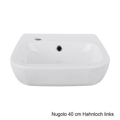 aquasu handwaschbecken waschbecken nugolo wei waschschale badm bel hand wand ebay. Black Bedroom Furniture Sets. Home Design Ideas