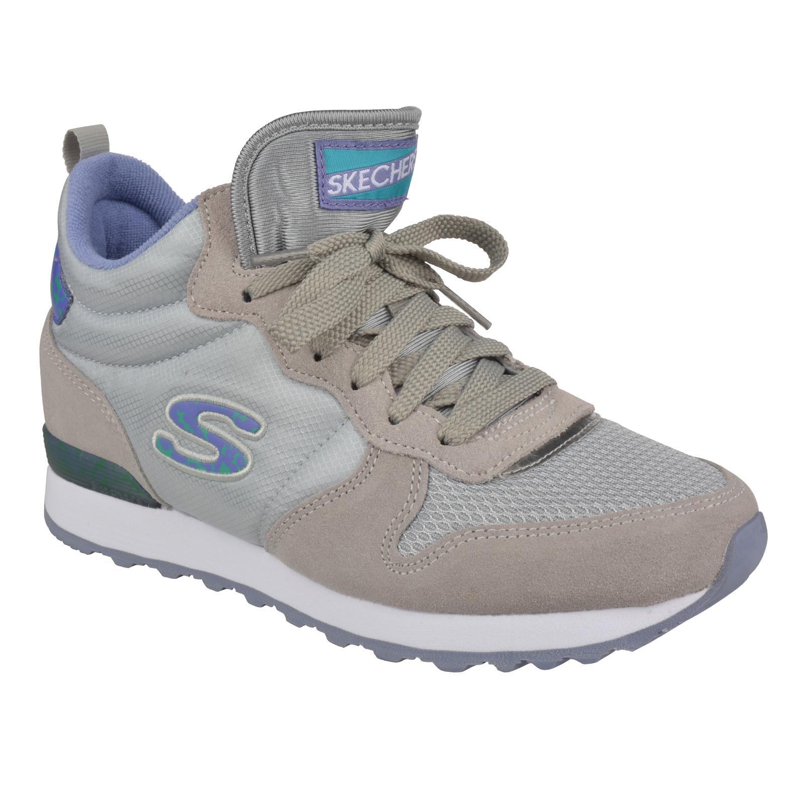 SKECHERS Damen Sneakers Turnschuhe Slipper Loafer